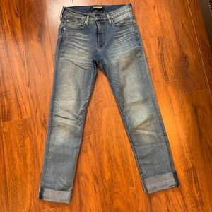 Express straight jeans size 2